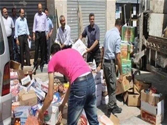 ضبط مصنع صابون يعمل بدون ترخيص في حملة تموينية بالأسكندرية