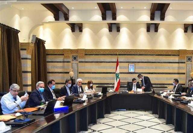 مثول الحكومة اللبنانية أمام مجلس النواب غداً الإثنين للمطالبة بمنح الثقة