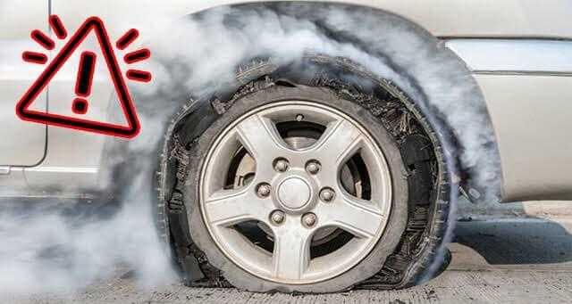 كيف تواجه خطر انفجار إطارات سيارتك؟