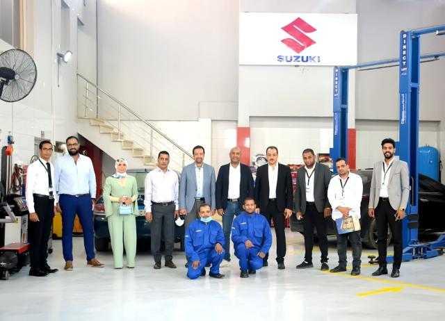 «مودرن موتورز» تفتنح أول مركز خدمة معتمد لسوزوكى في منطقة وسط الصعيد