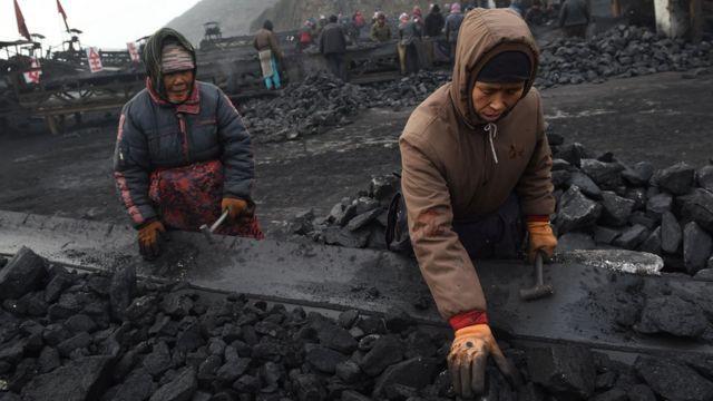 مناجم فحم في الصين
