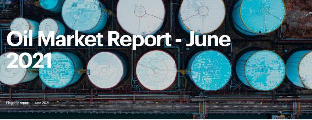 تقرير وكالة الطاقة الدولية