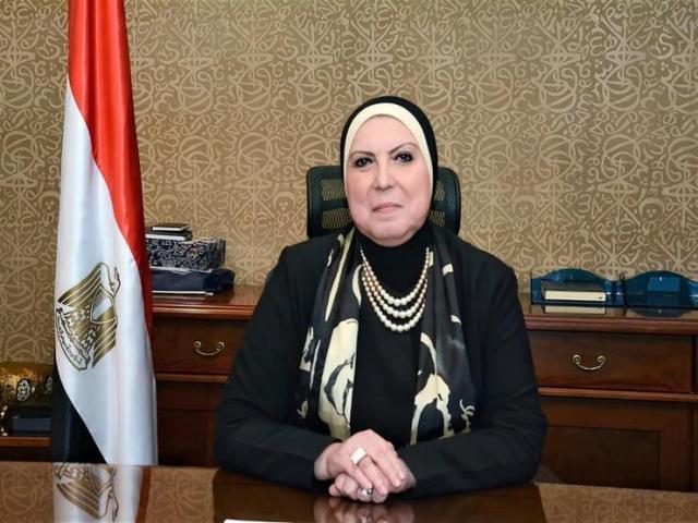وزيرة التجارة والصناعة - نيفين جامع