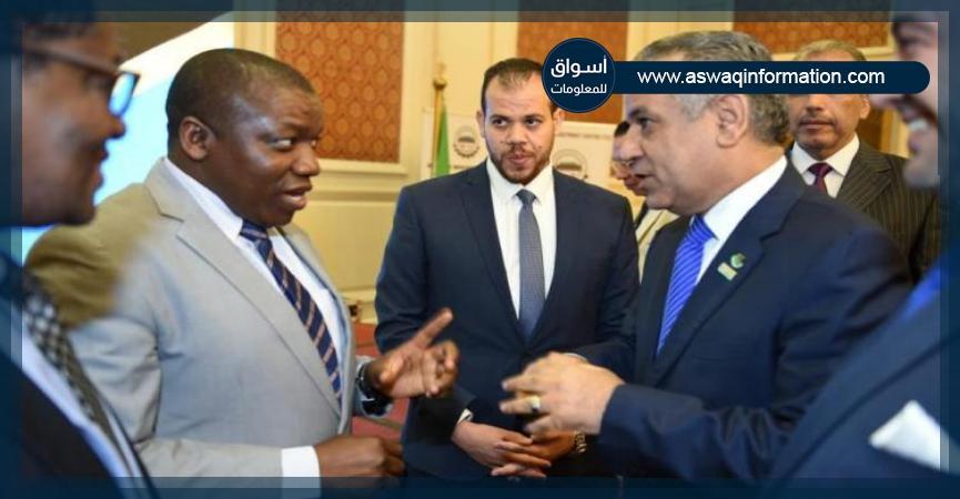 رئيس جمعية رجال الأعمال المصريين - وزير الاستثمار التنزاني