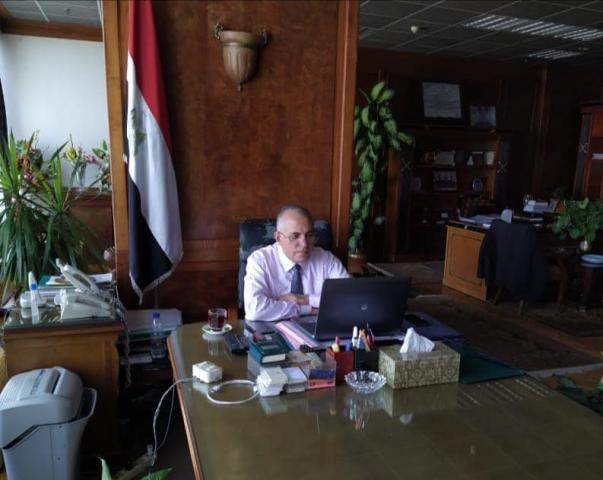 الدكتور محمد  عبد العاطى - وزير الموارد المائية والرى