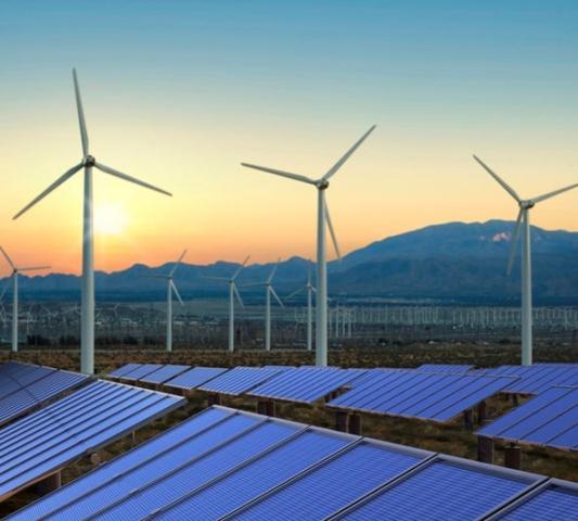 طاقة شمسية-طاقة رياح