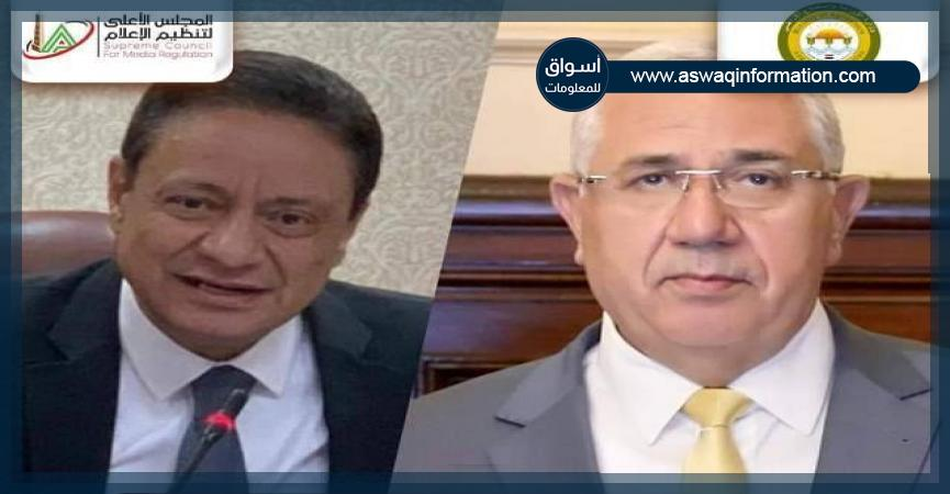 وزير الزراعة - الكاتب الصحفي كرم جبر
