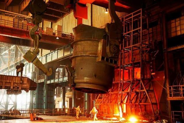إنتاج الصلب في الصين