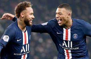 مبابي ونيمار يقودان هجوم باريس أمام مونبلييه في الدوري الفرنسي