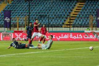 الأهلي يفوز على إنبي بصعوبة ويتأهل لملاقاة بيراميدز في كأس مصر