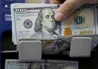 سعر الدولار مقابل الجنيه فى نهاية تعاملات الإثنين