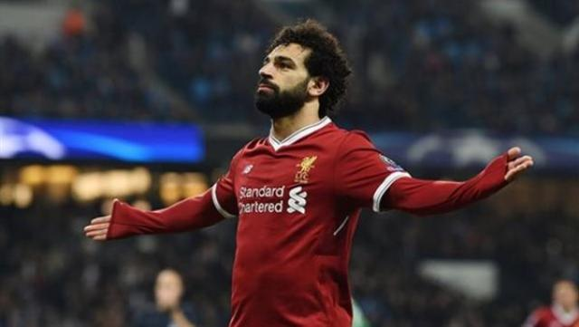 محمد صلاح لاعب نادي ليفربول ومنتخب مصر